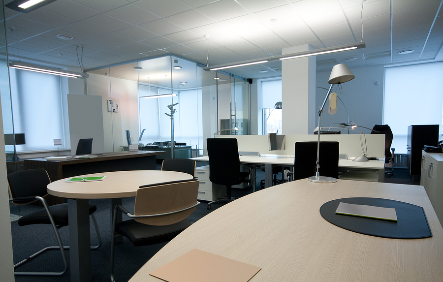 the modern office interior ( photo )
